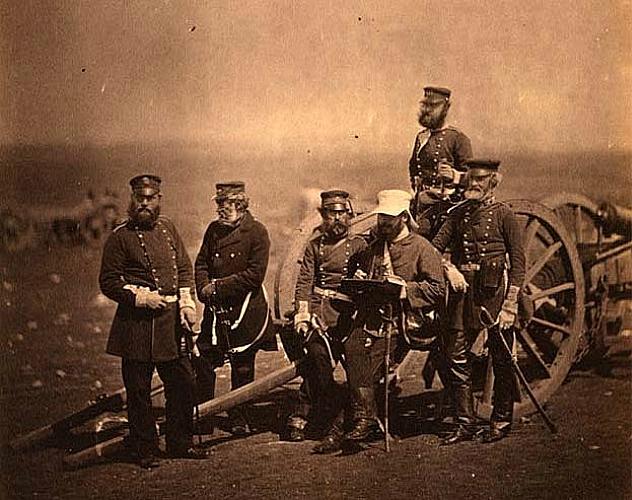 Английские солдаты в Крыму