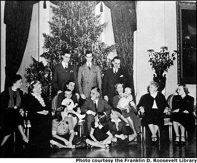 Рождество в Белом Доме 1904 года. Рузвельт смирился с Ёлкой
