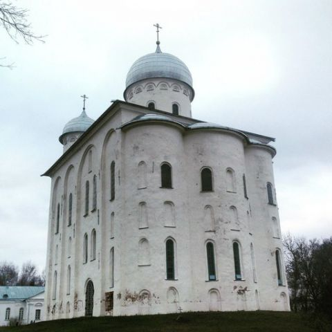 юрьев монастырь новгород