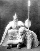 Шведский Дед Мороз и его друг, 1926 год..jpg