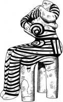 богиня лабиринта с ребенком Греция 6 тыс. до.jpg