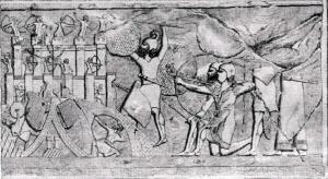 Штурм ассирийцами крепости.jpg