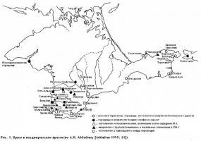 Карта. Крым в позднеримское время (по А.И. Айбабину).JPG
