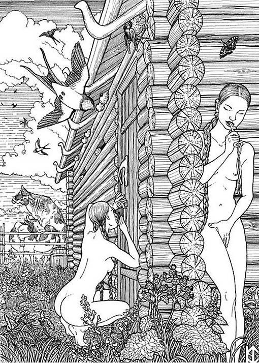 Оральный секс у древних славян