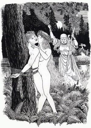 Групповой секс у славян