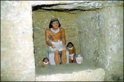 ходы внутри пирамиды Хеопса